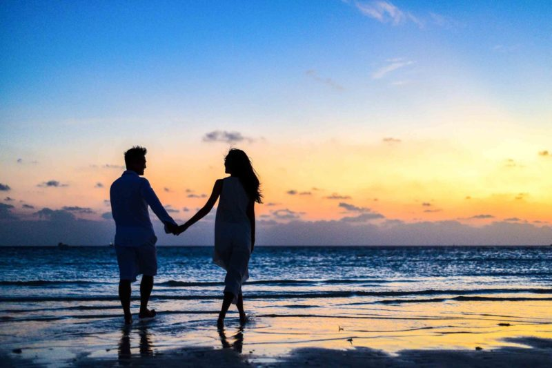 pre-marital counselling | couples on the beach | Ros Best Counselling